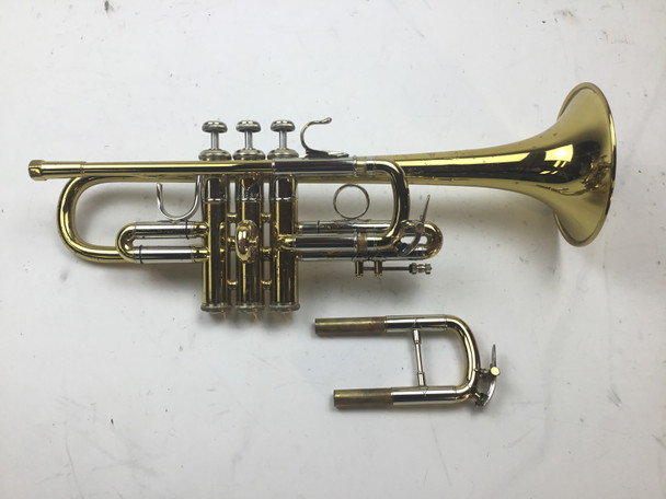 Used Bach 304 Eb/D Trumpet (SN: 59286)