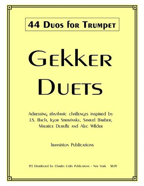 Gekker 44 Duos for Trumpet