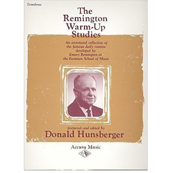 Remington Warm-Up Studies for Trombone