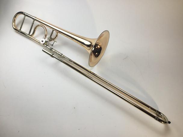 Used B&S MS-14 Meistersinger Bb/F Tenor Trombone (SN: 409628)