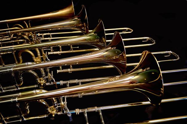M&W 322-T B/F Tenor Trombone with Tuning in Slide