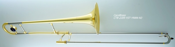 Carol Brass CTB-2209-YST-YNNN-N3 Professional medium bore Jazz trombone/ Nickle silver outer hand slide