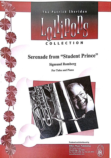 "Serenade from ""Student Prince"" - Sigmund Romberg, For Tuba and Piano"