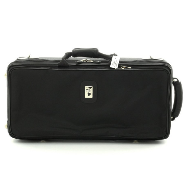 Marcus Bonna Compact Case for 3 Trumpets- Black Leather