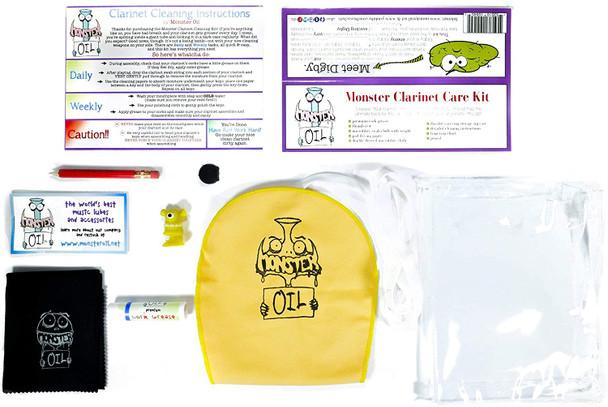 Monster Oil Clarinet Care Kit