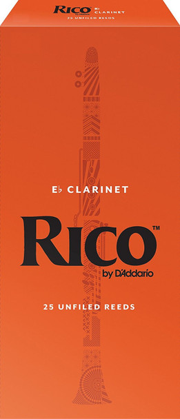 Rico Eb Clarinet Reeds Pack of 25