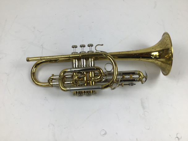 Used Bach 181 Bb Cornet (SN: 39186)