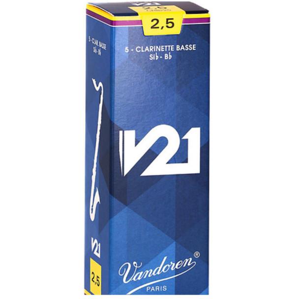 Vandoren Bass Clarinet V21 Reeds