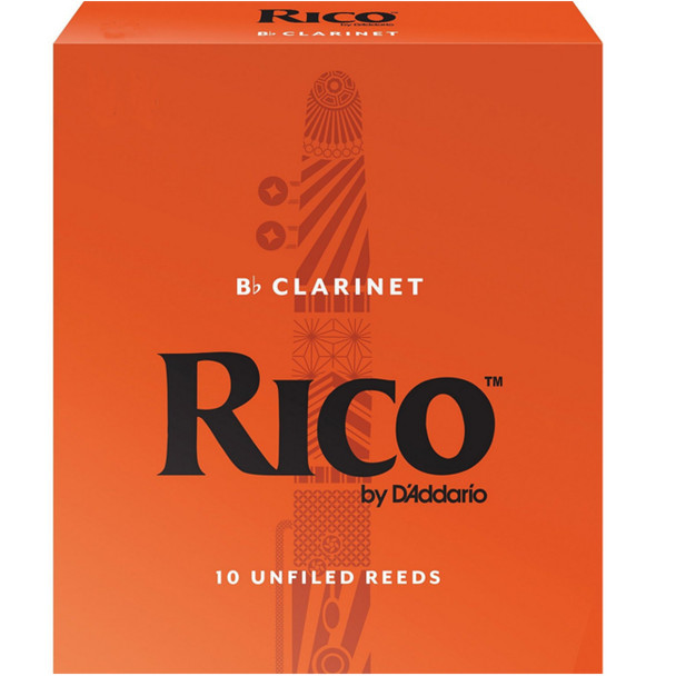 Rico Bb Clarinet Reeds Box of 10