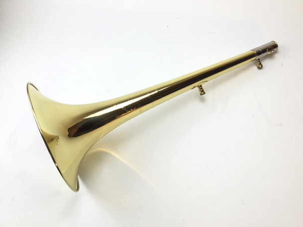 "Used Edwards 987 Lacquered 9.5"" Yellow Brass Bass Trombone Bell"