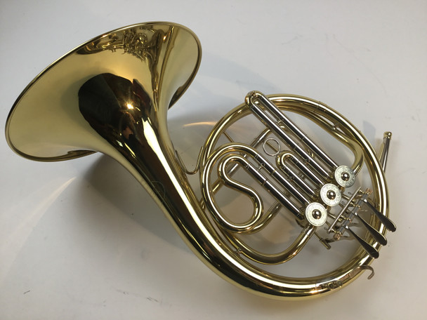 Used Besson BE601 Single Bb French Horn (SN: 15240)