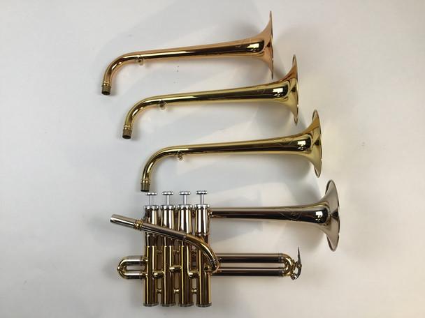Used Mario Corso Bb/A Piccolo Trumpet (SN: 1182)
