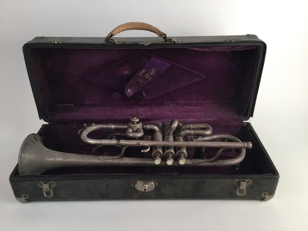 Used Couturier Conical Bore Bb/A Trumpet (SN: 1282)