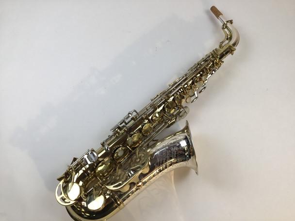 "Used King Super 20 ""Silver Sonic"" Alto Saxophone (SN: 390796)"