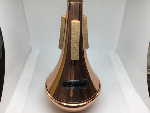 Demo Tom Crown Gemini Trumpet Mute Straight All Copper [21706]