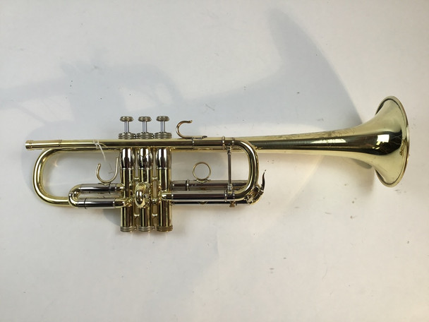 Used S.E. Shires 4MWF C Trumpet (SN: 1296)
