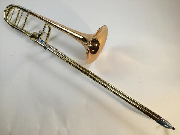 Demo Getzen 3047AF Bb/F Tenor Trombone Red Brass Bell (SN: 6325)