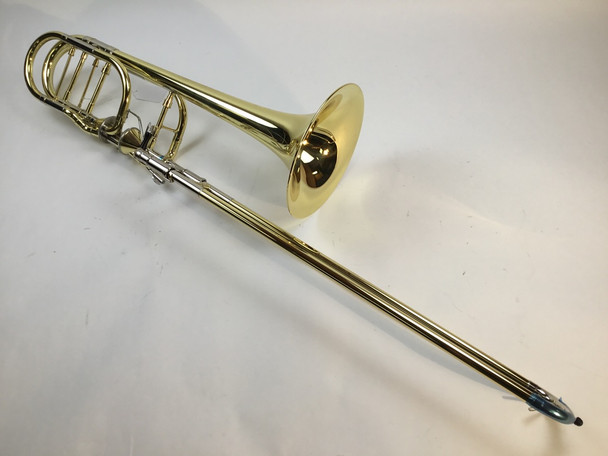 Demo Getzen 3062AF Bb/F/Gb/D Bass Trombone Yellow Brass Bell (SN: 3175)