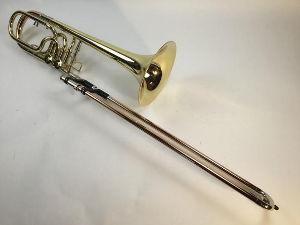 Used Rath R9 Bb/F/Gb/D Bass Trombone (SN: 694)