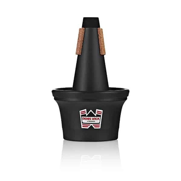 Denis Wick Bb Trumpet Black Painted Synthetic Cup Mute