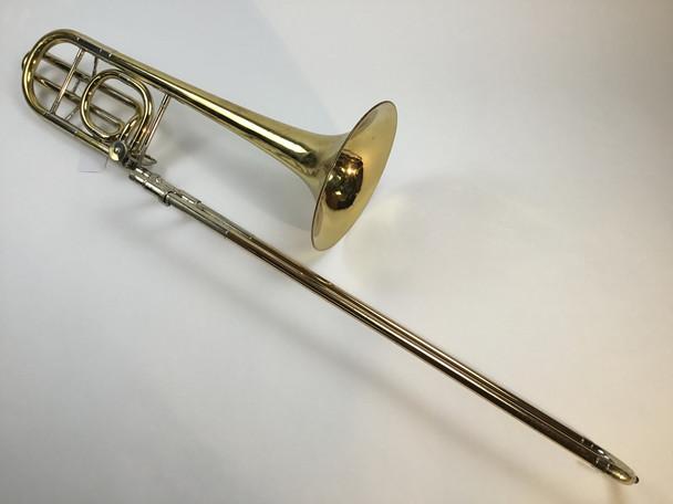 Used Conn 72H Bb/F Bass Trombone (SN: E37409)