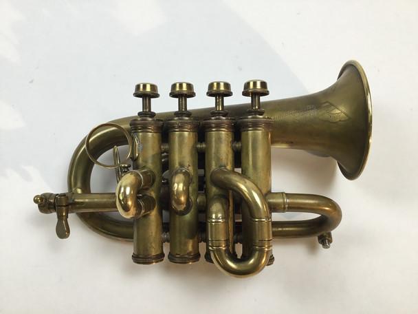 Used C. Mahillon Bb Piccolo Trumpet [22975]