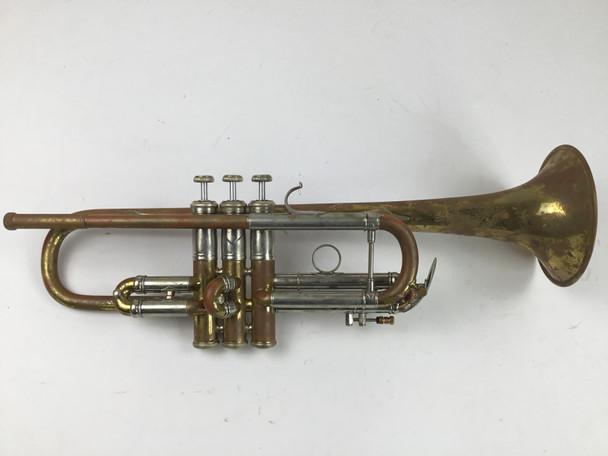 "Used Bach NY ""Hybrid"" C Trumpet (SN: 3811)"