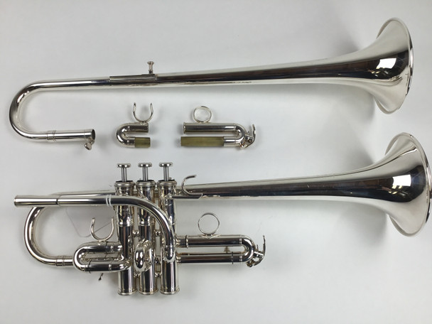 Used Yamaha YTR-9635 E/Eb Trumpet (SN: 521519)