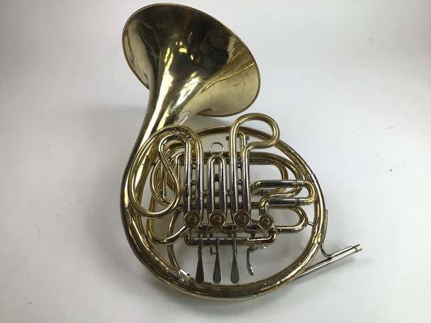 Used Olds double French horn (SN: 486924)