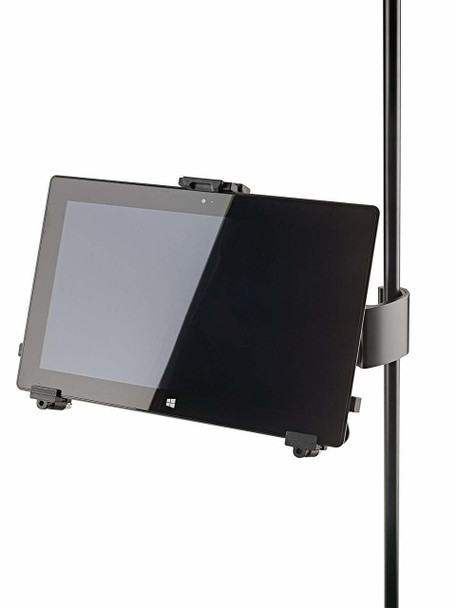 K&M 19791 Universal Tablet Holder Mic Stand Clamp Mount