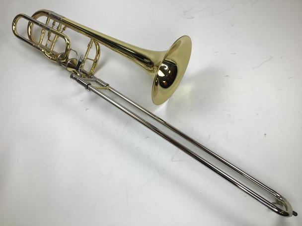 Used Edwards B454-HB Bb/F/Gb/D Bass Trombone (SN: 1304021)