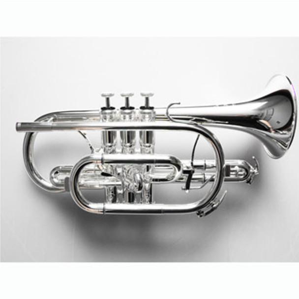 Willson 430 Bb Cornet Silver Plate