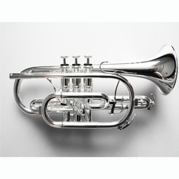 Willson 460 Bb Cornet Silver Plate