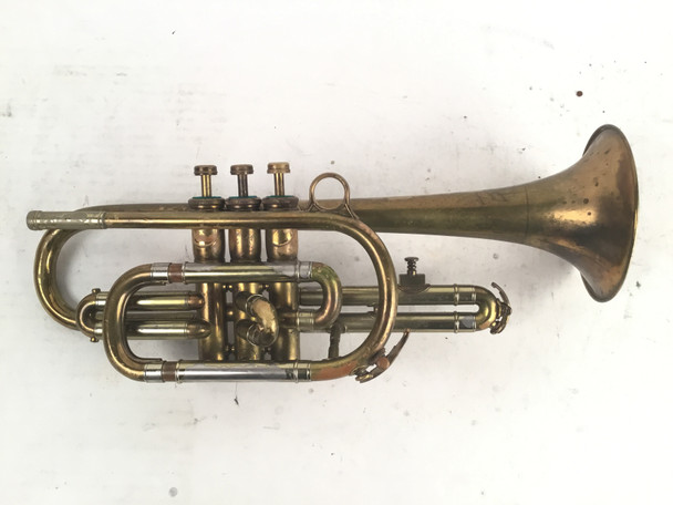 Used English Besson Cornet (SN: 141003)
