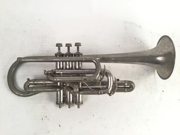 Used Gautier Virtuoso Bb/A Cornet (SN: 26022)
