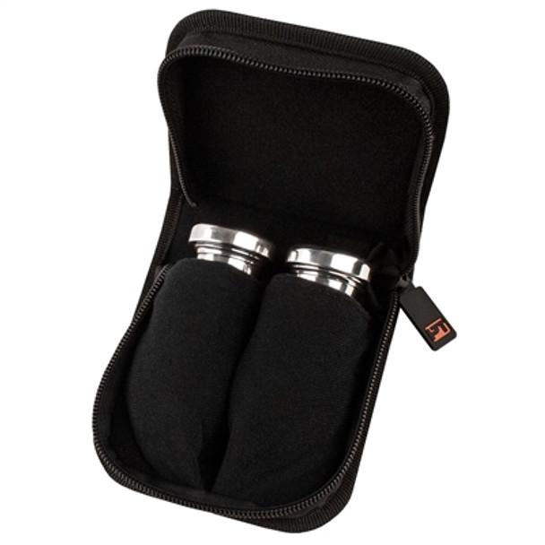 Protec Trombone Mouthpiece Pouch – 2 Piece (Nylon) with Zipper Closure