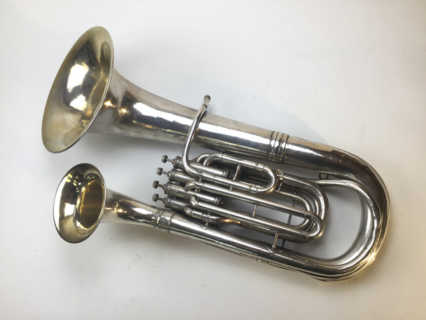 Used King Double Bell Euphonium (SN: 37458)