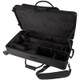 Protec Alto and Straight Soprano Sax Pro Pac Case with Wheels Black