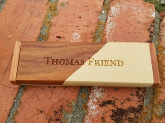 Personalized Engraved Rosewood/Maple Pen, Pencil and Pen Case, Engraved Pen & Case, Custom Pen Cases, Wood Pen Set, Wedding Gifts