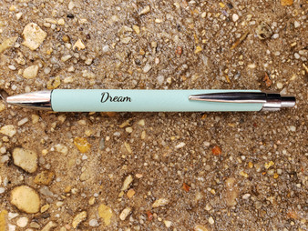 Personalized Leather Wrapped Pen, Personalized Pen, Groomsman Pen