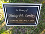 Cast Aluminum Outdoor Plaque, Garden Plaque, Memorial Plaque, Dedication Plaque, Tree Plaque
