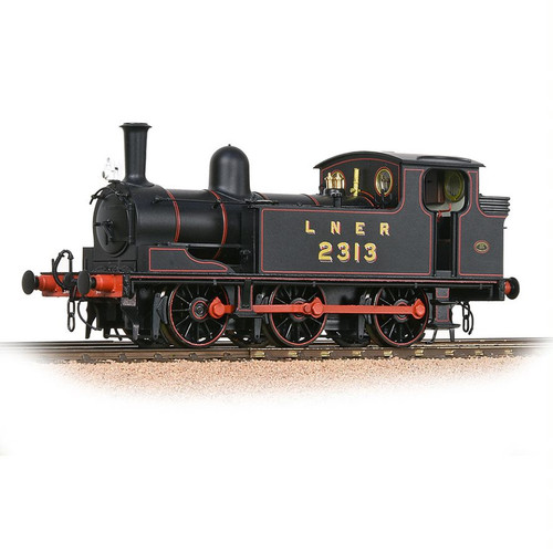 31-060 OO 2313 J72 0-6-0T LNER LINED BLACK