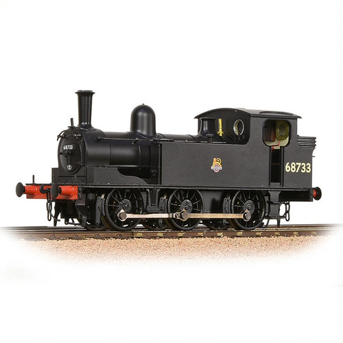 31-061 OO 68733 J72 0-6-0T BR BLACK EARLY