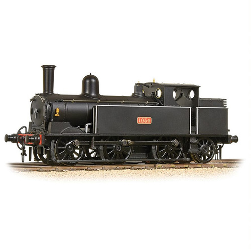 35-050 OO 1054 0-6-2T WEBB COAL TANK LNWR PLAIN BLACK