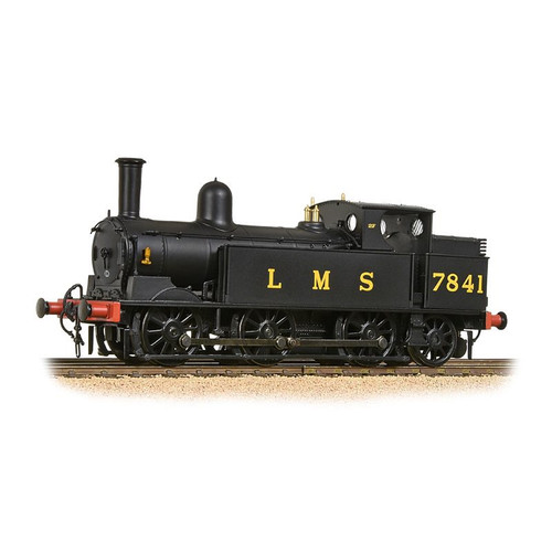 35-051 OO 7841 0-6-2T WEBB COAL TANK LMS BLACK