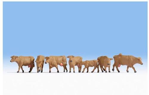 15727 HO BROWN COWS