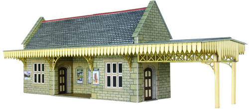 PO239 OO WAYSIDE STATION SHELTER CARD KIT