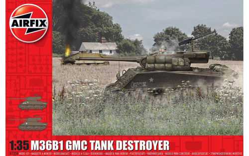 A1356 1/35 M36B1 GMC TANK DESTROYER PLASTIC KIT