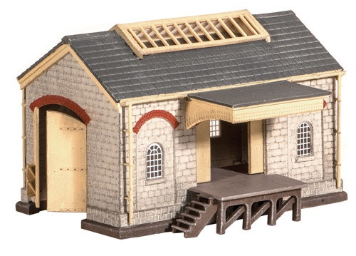 220 N STONE GOODS SHED PLASTIC KIT