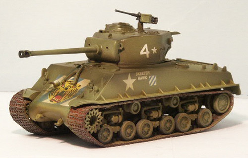 36259 1/72 M4A3E8 SHERMAN 64TH TANK BATTALION